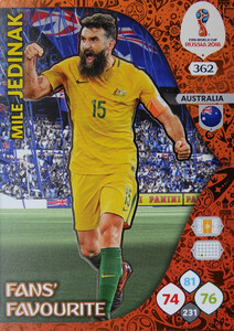 WORLD CUP RUSSIA 2018 FANS FAVOURITE JEDINAK 362
