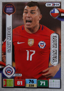 ROAD TO RUSSIA 2018 TEAM MATE CHILE  MEDEL 04