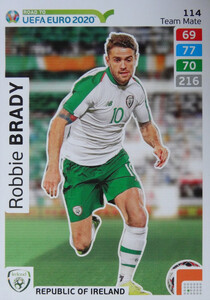 ROAD TO EURO 2020 TEAM MATE Robbie Brady 114