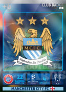 2014/15 CHAMPIONS LEAGUE® LOGO  Manchester City FC #19