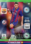 2014/15 CHAMPIONS LEAGUE® MASTER  Lionel Messi #72