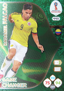 WORLD CUP RUSSIA 2018 GAME CHANGER FALCAO 448