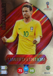 WORLD CUP RUSSIA 2018 LIMITED BRAZYLIA Neymar Jr