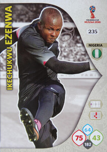 WORLD CUP RUSSIA 2018 TEAM MATE NIGERIA EZENWA 235