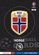 ROAD TO EURO 2016 LOGO Norwegia #15