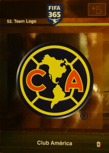 2016 FIFA 365 TEAM LOGO CLUB AMERICA #52