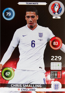 EURO 2016 TEAM MATE Chris Smalling #85