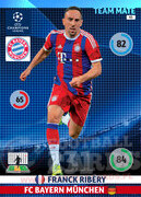 2014/15 CHAMPIONS LEAGUE® TEAM MATE Franck Ribéry #93
