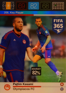 2016 FIFA 365 KEY PLAYER Pajtim Kasami #206