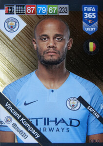 2019 FIFA 365 UPDATE CAPTAINS Vincent Kompany #97
