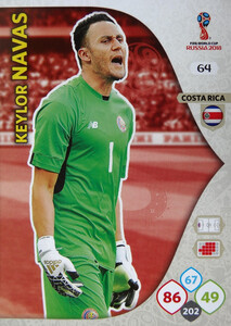 WORLD CUP RUSSIA 2018 COSTA RICA TEAM NAVAS 64