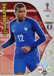 WORLD CUP RUSSIA 2018 TEAM MATE FRANCJA MBAPPE 151