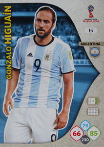 WORLD CUP RUSSIA 2018 ARGENTYNA TEAM HIGUAIN 15