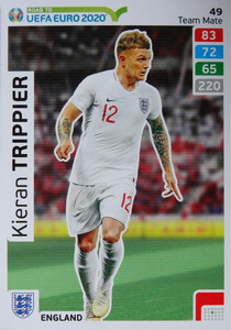 ROAD TO EURO 2020 TEAM MATE Kieran Trippier 49