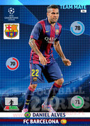 2014/15 CHAMPIONS LEAGUE® TEAM MATE Daniel Alves #66