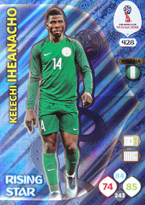 WORLD CUP RUSSIA 2018 RISING STAR IHEANACHO 428
