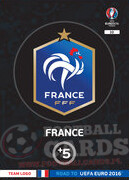 ROAD TO EURO 2016 LOGO Francja  #10