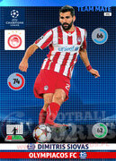 2014/15 CHAMPIONS LEAGUE® TEAM MATE Dimitris Siovas #191