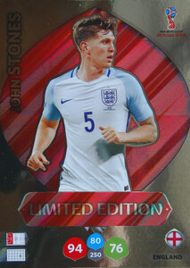 WORLD CUP RUSSIA 2018 LIMITED ANGLIA John Stones