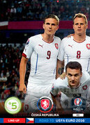 ROAD TO EURO 2016 LINE-UP Czechy #52