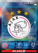 2014/15 CHAMPIONS LEAGUE®  LOGO AFC Ajax #3