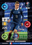 ROAD TO EURO 2016 TEAM MATE Antoine Griezmann #86