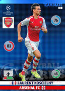 2014/15 CHAMPIONS LEAGUE® TEAM MATE Laurent Koscielny #47