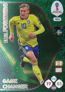WORLD CUP RUSSIA 2018 GAME CHANGER FORSBERG 461