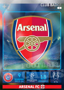 2014/15 CHAMPIONS LEAGUE® LOGO Arsenal FC #5