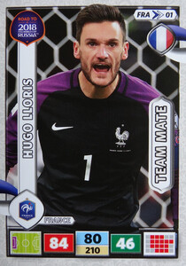 ROAD TO RUSSIA 2018 TEAM MATE FRANCJA  LLORIS  01