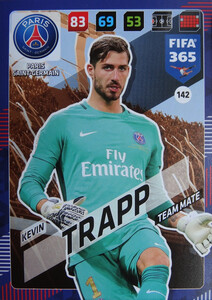 2018 FIFA 365 TEAM MATE Kevin Trapp #142