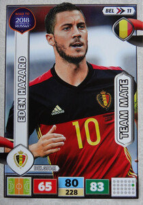 ROAD TO RUSSIA 2018 TEAM MATE BELGIA HAZARD 11