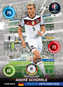 ROAD TO EURO 2016 TEAM MATE André Schürrle #59
