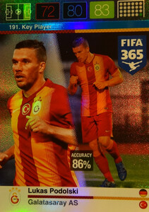 2016 FIFA 365 KEY PLAYER Lukas Podolski