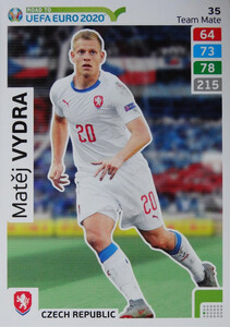 ROAD TO EURO 2020 TEAM MATE Matěj Vydra 35