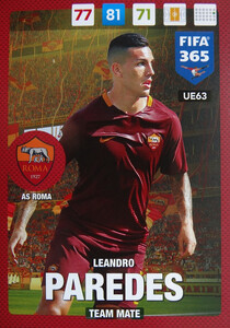 UPDATE 2017 FIFA 365 TEAM MATE LENARDO PAREDES #63