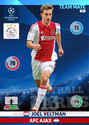 2014/15 CHAMPIONS LEAGUE® TEAM MATE Joël Veltman #30