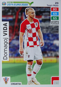 ROAD TO EURO 2020 TEAM MATE Domagoj Vida 20