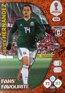 WORLD CUP RUSSIA 2018 FANS FAVOURITE HERNANDEZ 384