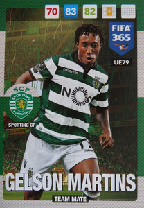 UPDATE 2017 FIFA 365 TEAM MATE GELSON MARTINS #79