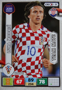 ROAD TO RUSSIA 2018 TEAM MATE CHORWACJA MODRIĆ 11