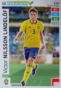 ROAD TO EURO 2020 TEAM MATE Victor Nilsson Lindelöf 210