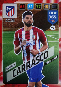 2018 FIFA 365 TEAM MATE Yannick Carrasco #96