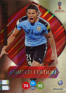 WORLD CUP RUSSIA 2018 LIMITED URUGWAJ Edinson Cavani