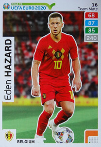 ROAD TO EURO 2020 TEAM MATE  Eden Hazard 16