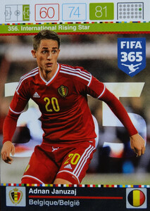 2016 FIFA 365 INTERNATIONAL RISING STAR Adnan Januzzaj #356