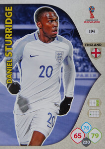 WORLD CUP RUSSIA 2018 ANGLIA TEAM MATE STURRIDGE 114