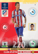 2014/15 CHAMPIONS LEAGUE® ONE TO WATCH   Mario Mandžukić #61