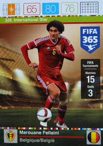 2016 FIFA 365 INTERNATIONAL STAR Marouane Fellaini #328