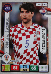 ROAD TO RUSSIA 2018 TEAM MATE CHORWACJA  CORLUKA  02